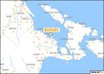 map of Busdac