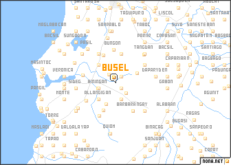 map of Busel