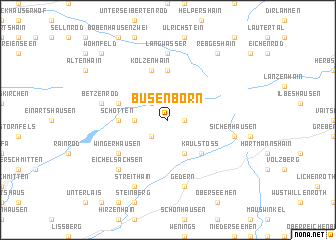 map of Busenborn
