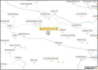 map of Bushevka