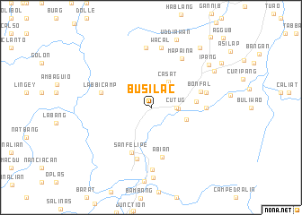 map of Busilac