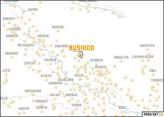 map of Busin Do