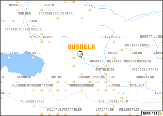 map of Busnela