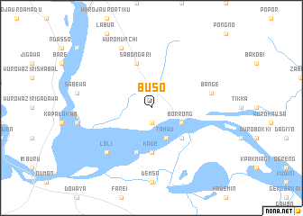 map of Buso