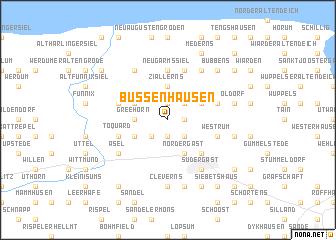 map of Bussenhausen