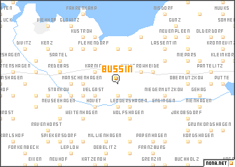 map of Bussin