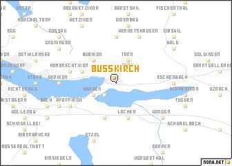 map of Busskirch
