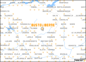 map of Busteliberne