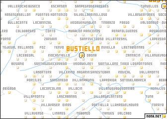 map of Bustiello
