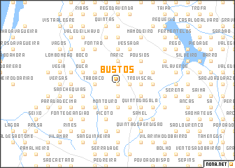 map of Bustos