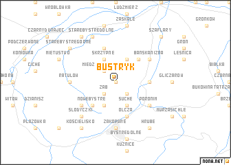 map of Bustryk
