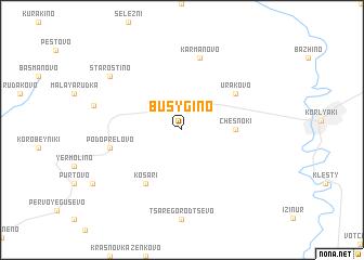 map of Busygino