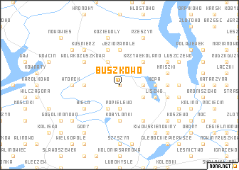 map of Buszkowo