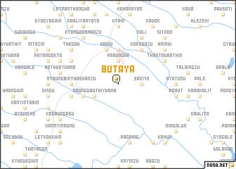 map of Butaya