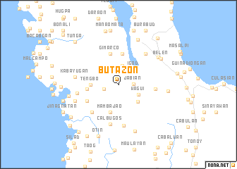 map of Butazon