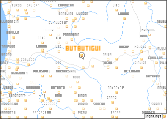 map of Butbutigui