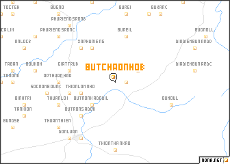 map of Bu Tchâo Nho (1)