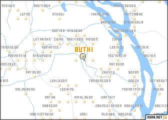 map of Buthi