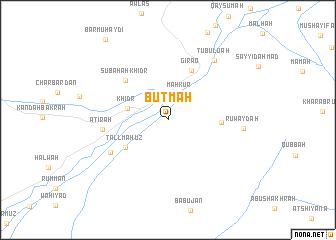 map of Buţmah