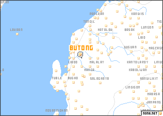 map of Butong