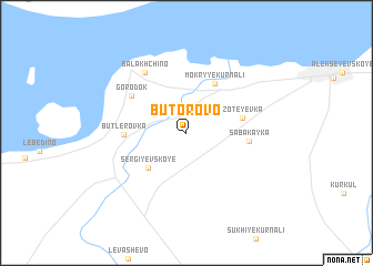 map of Butorovo