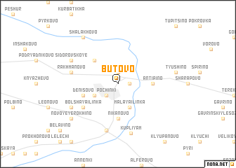 map of Butovo