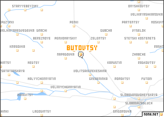 map of Butovtsy