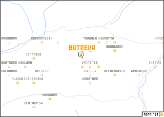map of Butreva