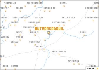 map of Bu Tron Kadouil