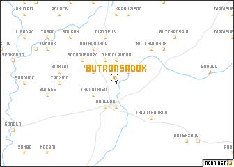 map of Bu Tron Sadok
