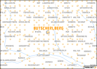 map of Butscherlberg