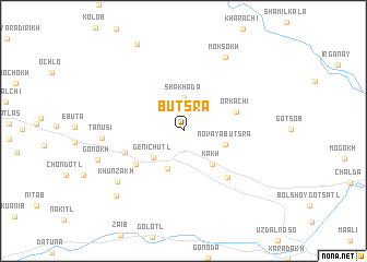 map of Butsra