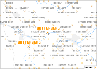 map of Butterberg