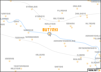 map of Butyrki