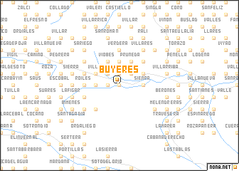 map of Buyeres