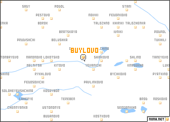 map of Buylovo
