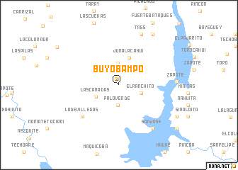 map of Buyobampo