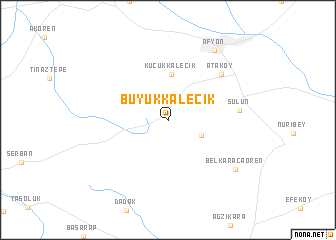 Bykkalecik Turkey map nonanet