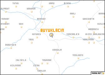 map of Büyük Lâçin