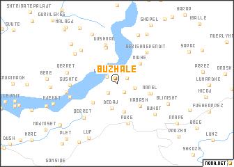 map of Buzhalë