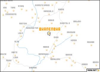 map of Bwanenbwa