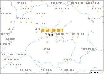 map of Bwepinkwin