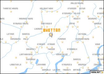 map of Bwettan