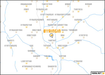 map of Byaing-in