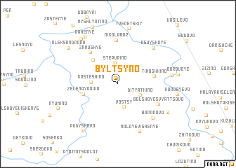 map of Byl\