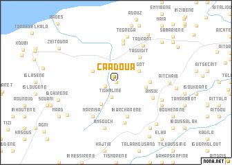 map of Caadoua