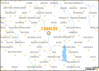 map of Cabaços