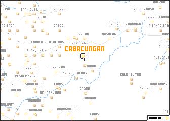 map of Cabacuñgan
