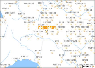 map of Cabagsay