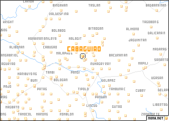 map of Cabaguiao